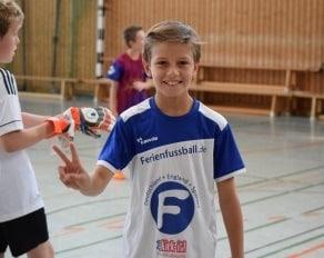 Fußballer im Portrait
