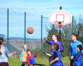Basketball im Sportcamp