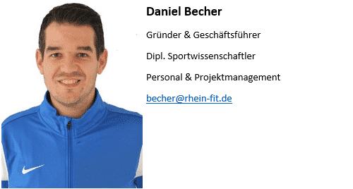 Daniel - RheinFit Sportakademie GmbH