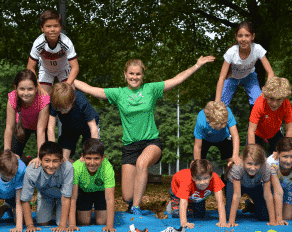 Turnpyramide Kinder